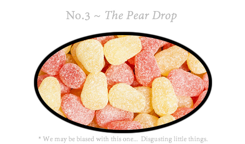 No.3 The Pear Drop