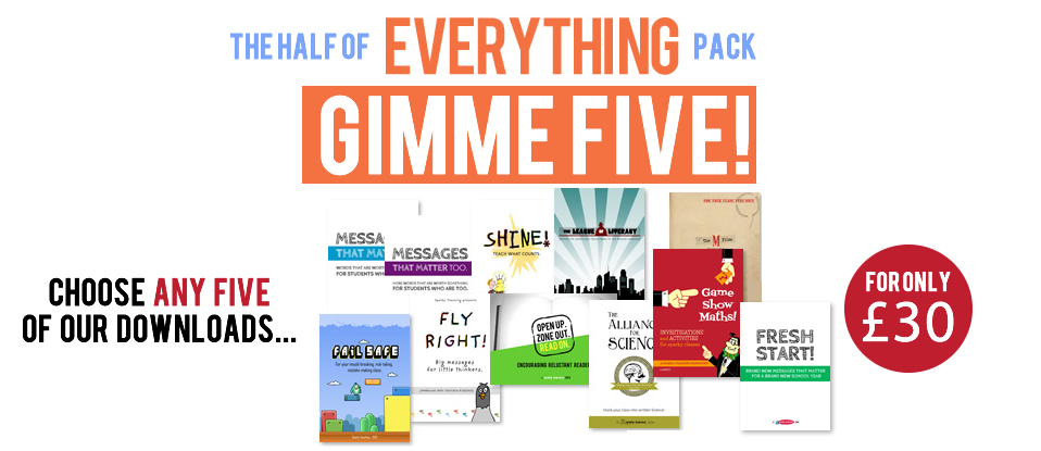 The Everything Pack - Gimme Five!
