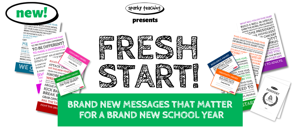 Fresh Start - Messages that matter for a new year