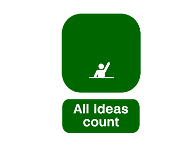 All ideas count