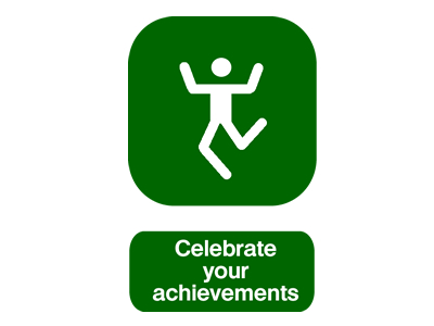Celebrate your achievements