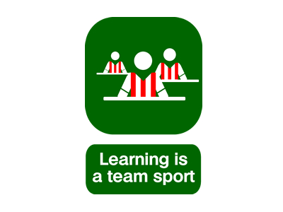 Learning is a team sport